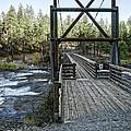Bowl And Pitcher Bridge - Spokane Washington by Daniel Hagerman