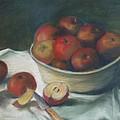 Bowl Of Apples by Ellen Minter