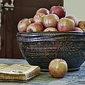 Bowl Of Apples by Nikolyn McDonald