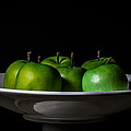 Bowl Of Apples by Theodore Lewis