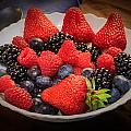 Bowl Of Fruit 1 by Mike Penney