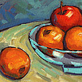 Bowl Of Fruit 2 by Konnie Kim