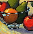 Bowl Of Fruit 5 by Konnie Kim