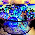 Bowl Of Marbles by Ed Weidman