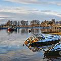 Bowling Harbour Panorama 01 by Antony McAulay