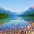Bowman Lake by Adriann Partrick