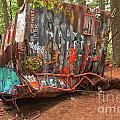 Box Car Graffiti by Adam Jewell
