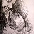 Boxer Kisses by Lorraine Zaloom