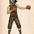 Boxing Bulldog by Kelly McLaughlan