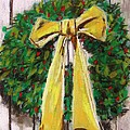 Boxwood Berries And Gold- Christmas by John Williams