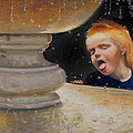 Boy At Fountain Of Youth by Loretta McNair