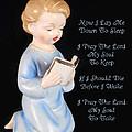 Boy Childs Bedtime Prayer by Kathy Clark