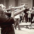 Boy On A Trumpet In Nola by Kathleen K Parker