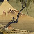 Boy Viewing Mount Fuji by Katsushika Hokusai