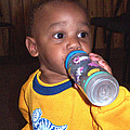 Boy With Bottle by Bearathan Carmack