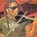 Boyd Tinsley At Red Rocks by Joshua Morton