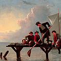 Boys Crabbing by William Ranney