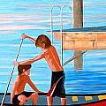 Boys On The Bay by Illona Battaglia Aguayo