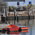 Bradley Wharf Dinghies by Mike Martin