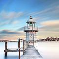 Bradleys Head Lighthouse by Bruce Hood
