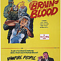 Brain Of Blood With Vampire People, Us by Everett