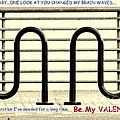 Brain Waves Valentine by Joe Jake Pratt