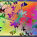 Branches In The Mist 22 by Tim Allen