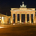 Brandenburg Gate Panoramic by Melanie Viola