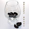 Brandy Beans - Liqueur - Chocolate by Barbara Griffin