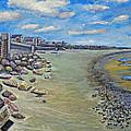 Brant Rock Beach by Rita Brown