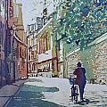 Brasenose Lane by Jenny Armitage