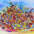 Brasilian Favela by Henning Mogen