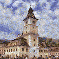 Brasov City Hall by Jeffrey Kolker