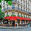 Brasserie De L'isle St. Louis Paris by Jeff Black