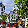 Bratislava Town Square by Jon Berghoff
