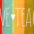Brave Teacher by Linda Woods
