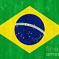 Brazil Flag by Luis Alvarenga