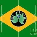 Brazilian Football Field by Michal Boubin