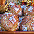 Bread At A French Market by Dave Mills