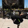 Break Dancer  Columbus Circle by Amy Cicconi