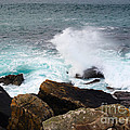 Breakers And Rocks by Louise Heusinkveld