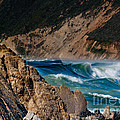 Breakers At Pt Reyes by Bill Gallagher