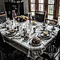 Downton Abbey Breakfast by The Art of Alice Terrill