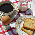 Breakfast On A Table by Blanchi Costela