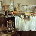 Breakfast Still Life by Willem Claesz Heda