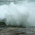 Breaking Wave by Mariarosa Rockefeller