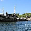 Breakwater Ship Of Vizcaya by Carol Groenen