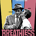 Breathless Movie Poster by Douglas Simonson