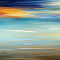 Breeze-seascapes Abstract Art by Lourry Legarde
