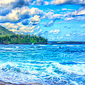 Breezy Hawaii Morning by Dominic Piperata